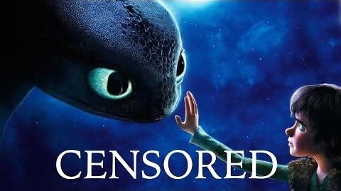 HOW TO TRAIN YOUR DRAGON Unnecessary Censorship Recap Censored Funniest Best Moments Parody-1