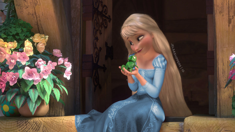 Rapunzel AU | Rise of the Brave Tangled Dragons Wiki