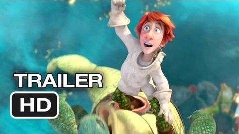 Justin and the Knights of Valour 3D Official Trailer 1 (2013) - Saoirse Ronan Movie HD