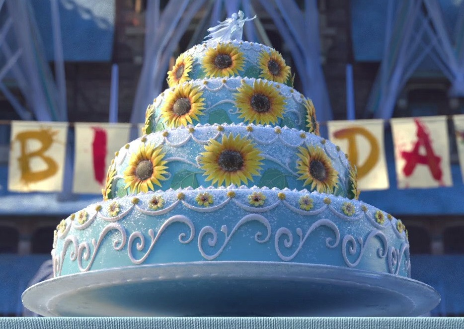 Annas Birthday Cake Rise of the Brave Tangled Dragons Wiki