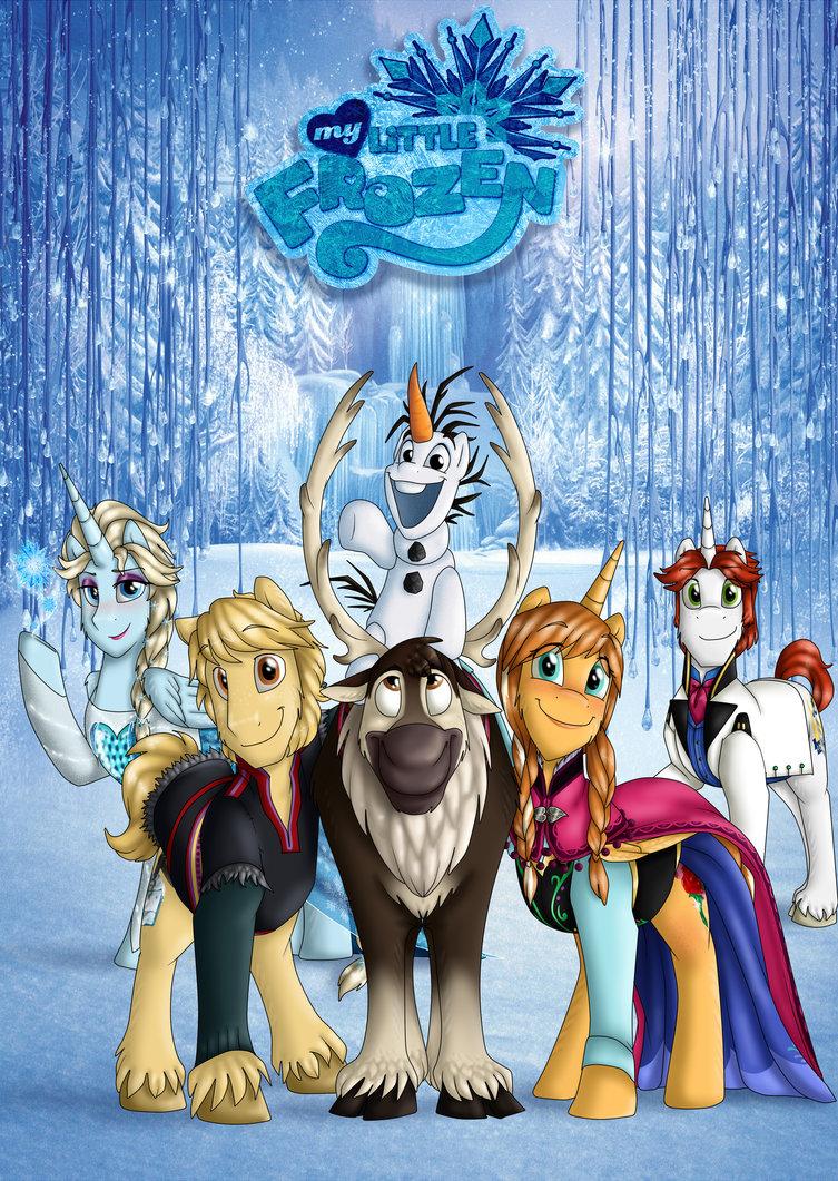My Little Frozen Movie Wallpaper 2 By Namygaga D7qszsj