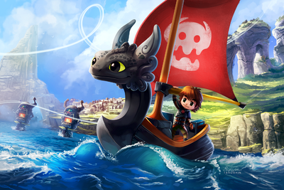 HTTYD; The Wind Waker By TsaoShin