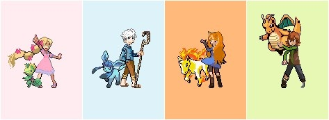 The Big Four Pokemon