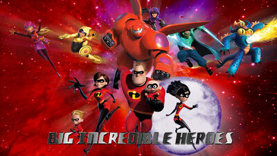 Big incredible heroes wp by swfan1977-d873shi