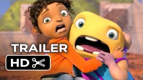 Home Official Trailer 1 (2015) - Jennifer Lopez, Rihanna Animated Movie HD