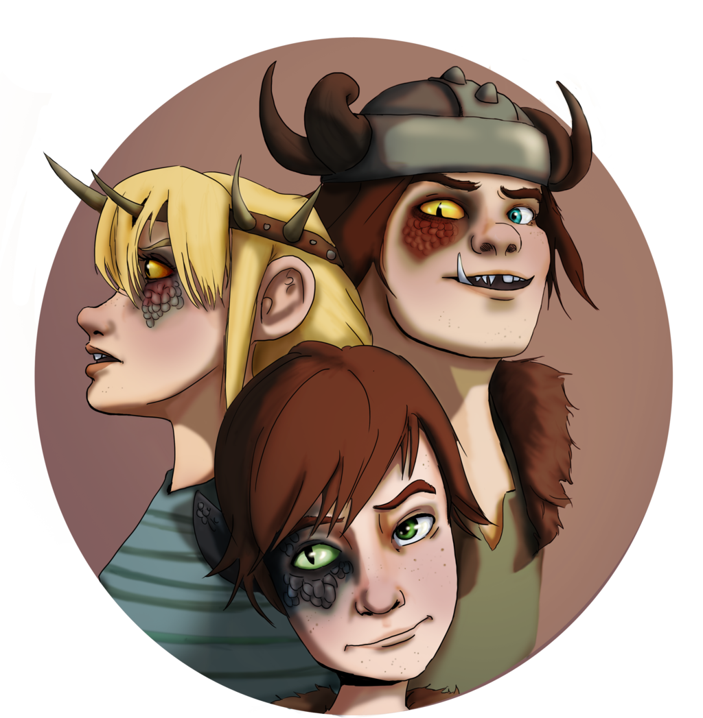 Hybrid AU | Rise of the Brave Tangled Dragons Wiki | FANDOM powered