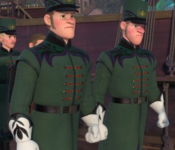 Royal Guards Frozen Rise Of The Brave Tangled Dragons Wiki Fandom