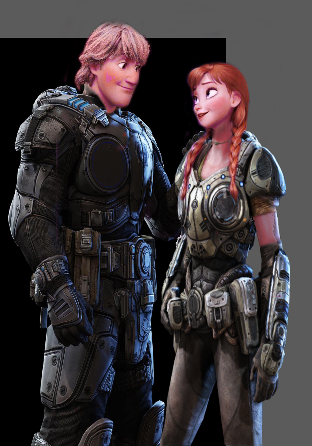 image kristoff and anna gears of war by authress d84wkdx png