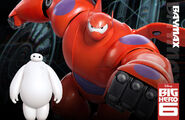 Baymax official poster