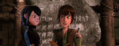 Mavis and hiccup crossover manip by xlexierusso2-d6taej6