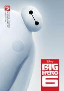 Disney BigHero6 Poster Baymax