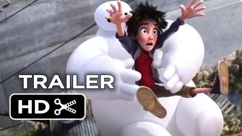 Big Hero 6 Official Trailer 1 (2014) - Disney Animation Movie HD-0