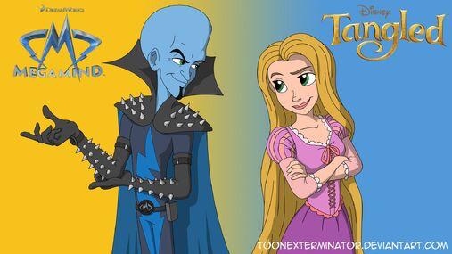 Megamind and Rapunzel