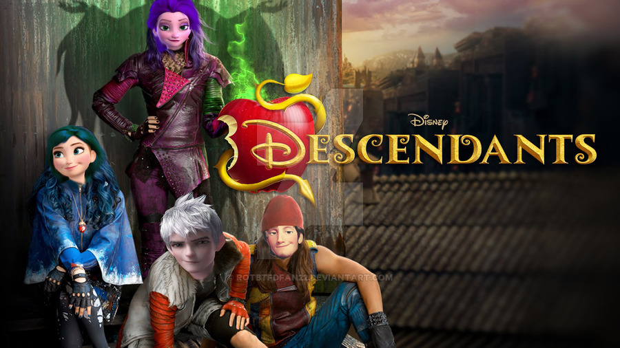 Descendants AU | Rise of the Brave Tangled Dragons Wiki