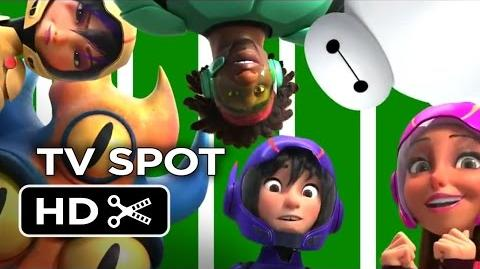 Big Hero 6 TV SPOT - Are You Ready For Some Football? (2014) - Disney Animation Movie HD