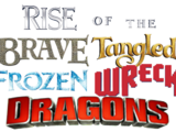 Rise of the Brave Tangled Frozen Wreck Dragons
