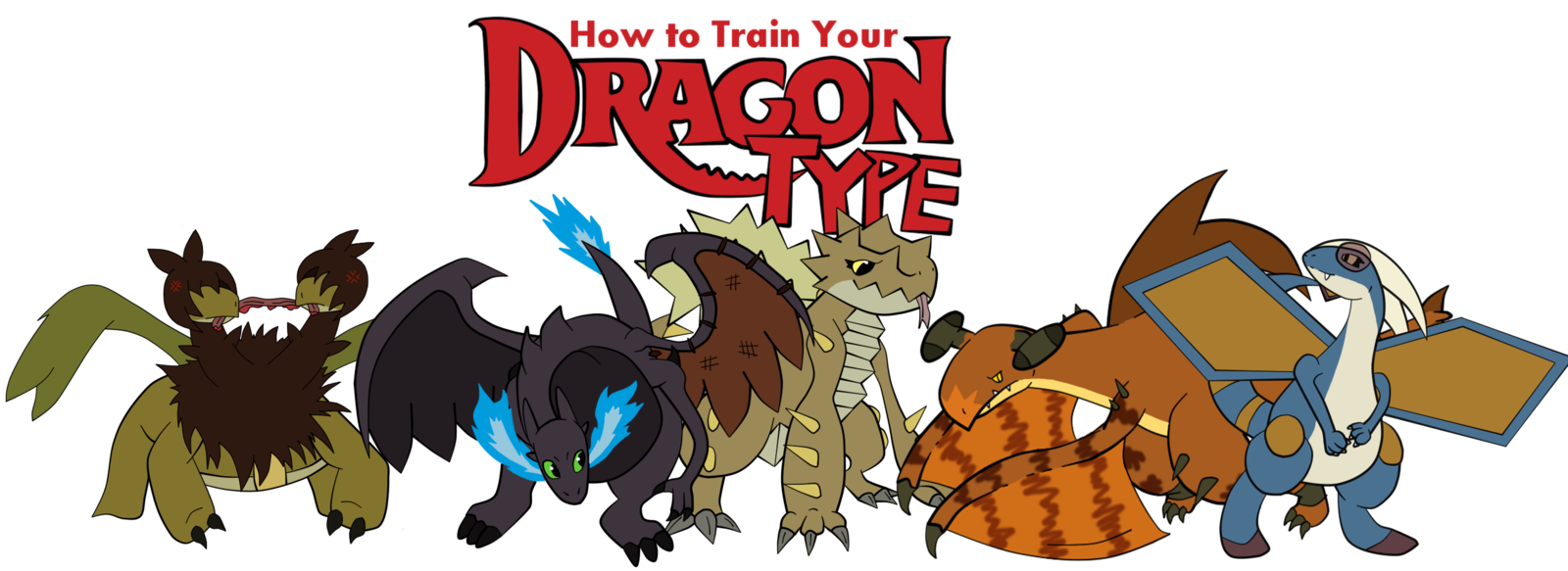 Image  How to train your dragon type all of them by xbox ds