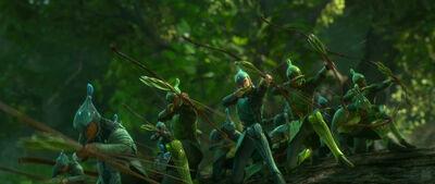 Leaf-men