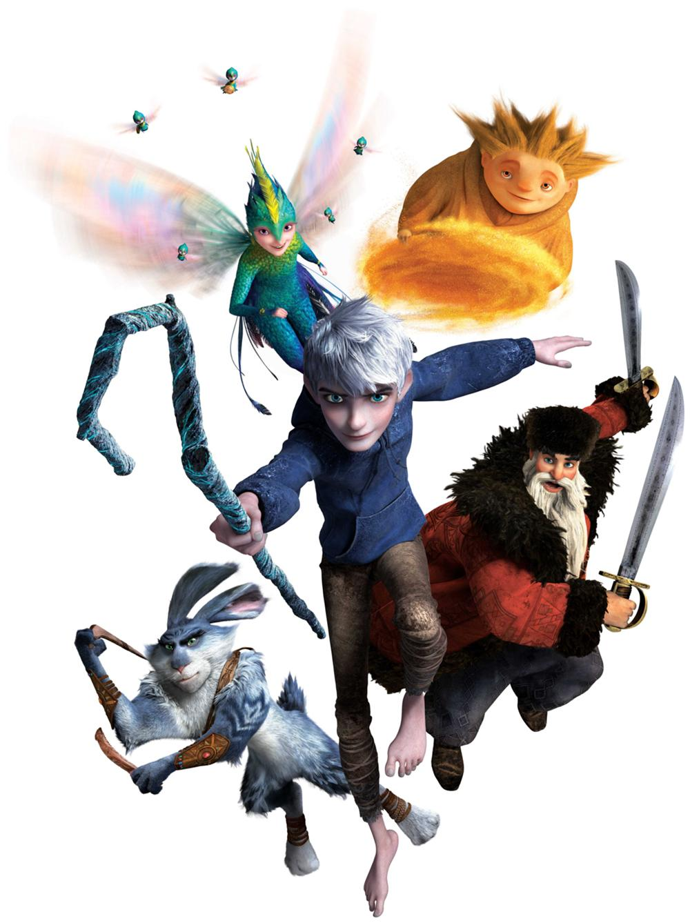 The Guardians Of Childhood Are A Group Mythical Figures Featured In Film Rise They Were Originally Chosen By Man Moon