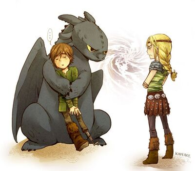 Toothless/Relationships | Rise of the Brave Tangled Dragons