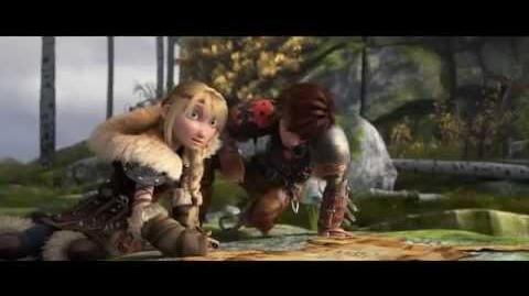 How To Train Your Dragon 2 - Astrid & Hiccup - Official Clip
