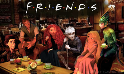 Friends the big four co by givealittlewhistle-d5znpoh