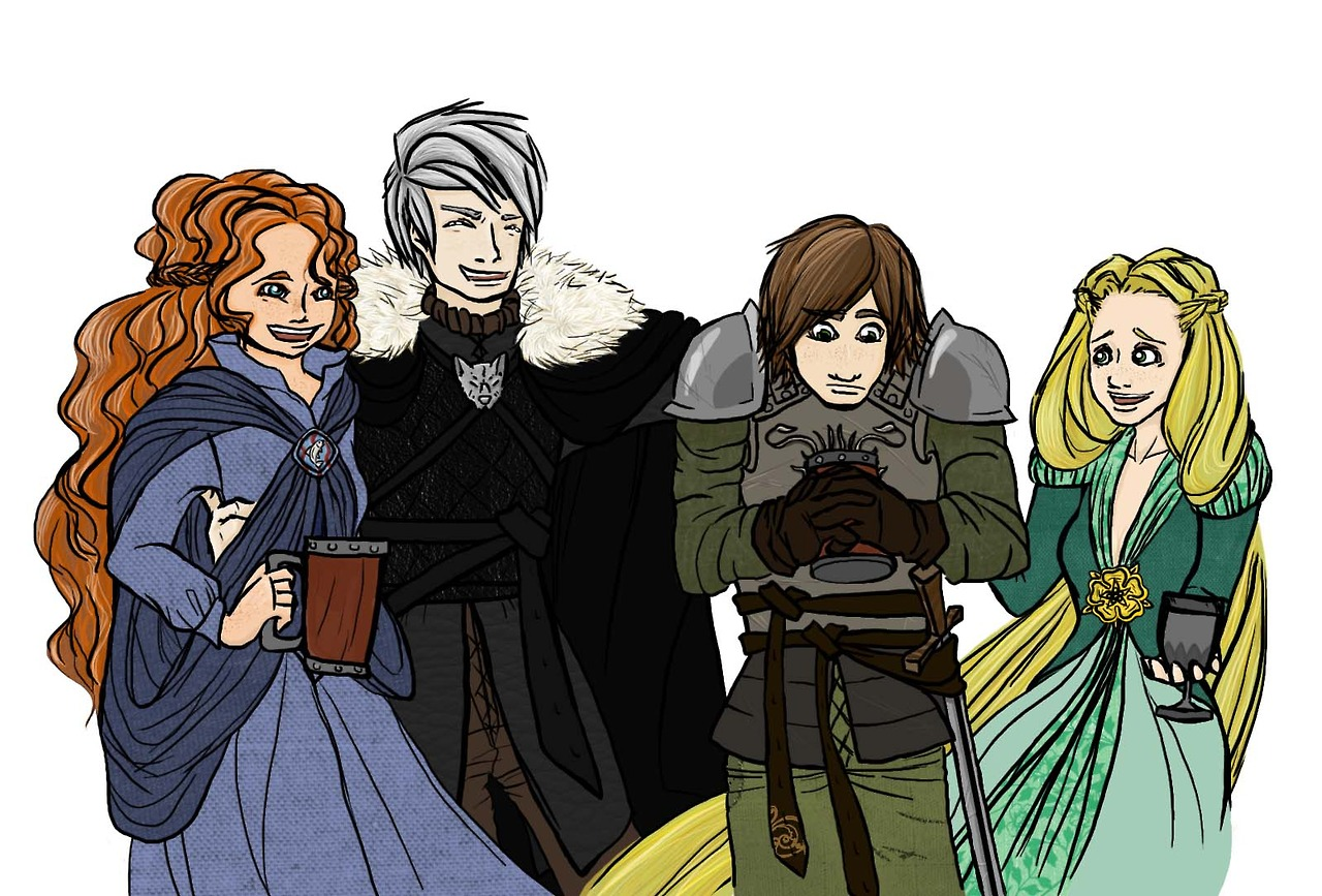 Game of Thrones AU | Rise of the Brave Tangled Dragons ... | 1280 x 867 jpeg 321kB