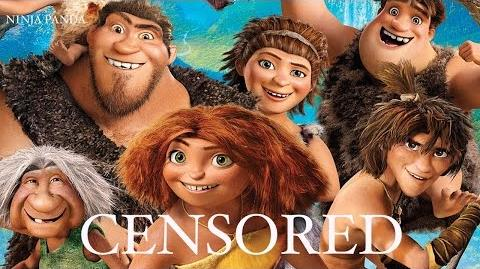 THE CROODS Unnecessary Censorship Censored Parody Bleep Video