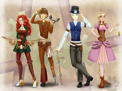 Steampunk AU photo