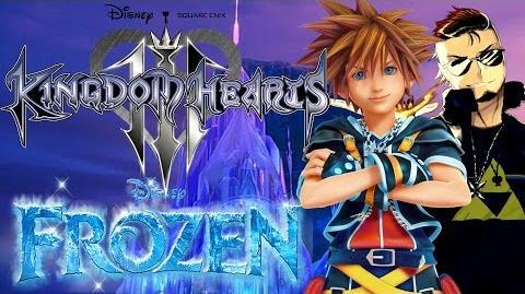 Kingdom Hearts 3 Worlds Idea - Frozen