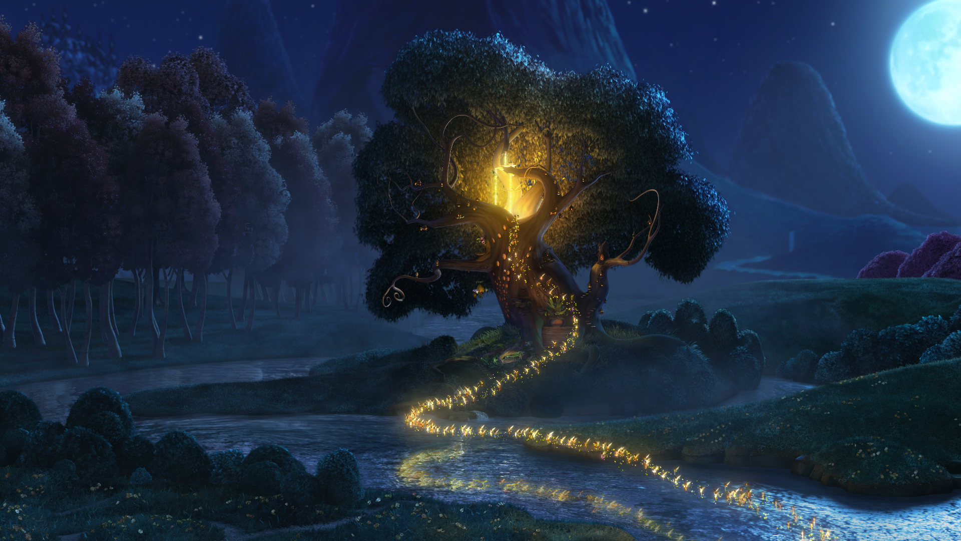 image pixie tree tinker bell jpg rise of the brave tangled