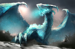 Ice dragon by mac tire-d7ngm0m