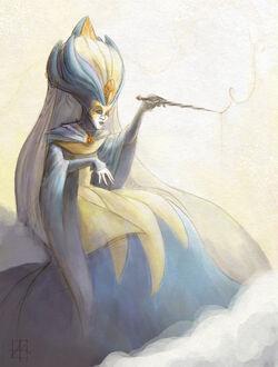 Fairy godmother reimagined by curioe-d3h4wwd