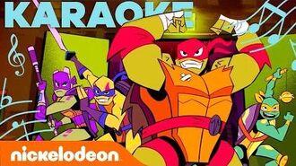 KARAOKE! 🎤 Rise of the Teenage Mutant Ninja Turtles Theme Song TurtlesTuesday