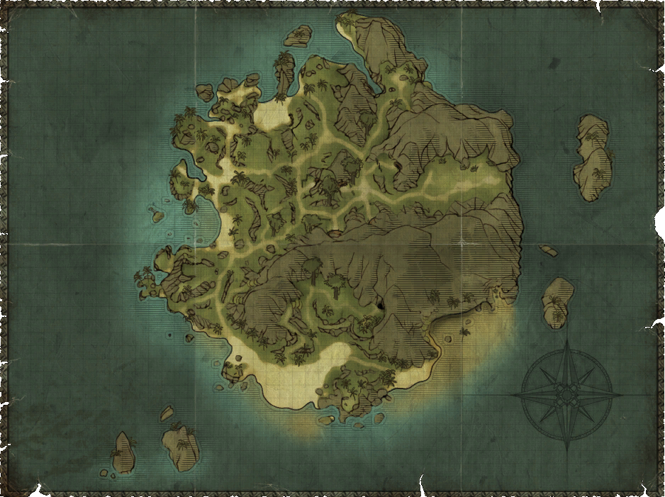 r2 the isle of thieves mappng