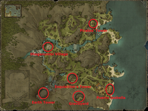 Map of The Sword Coast (with names)