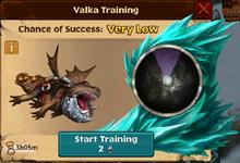 Battle Gronckle Valka First Chance