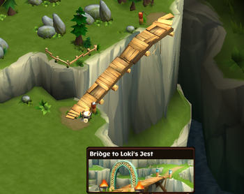 Bridge to Loki's Jest