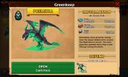 Greenkeep's stats