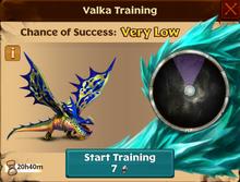 Sailback Valka First Chance