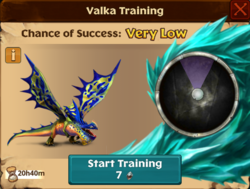 Sailback Valka First Chance