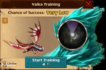 Battle Thunderclaw Valka First Chance