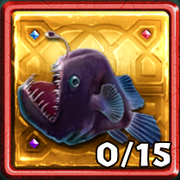Marooned Gold Anglerfish