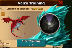 Sinker-Claws Valka First Chance