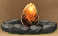 Exiled Monstrous Nightmare Egg