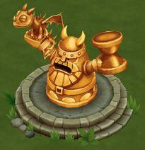 Dragon Trainer Statue Lv 2