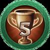 Achievement 5 Brawls