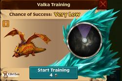 Exotic Buffalord Valka First Chance