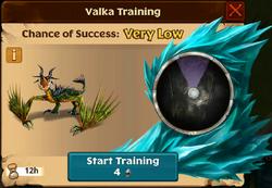 Whip-Slash Valka First Chance