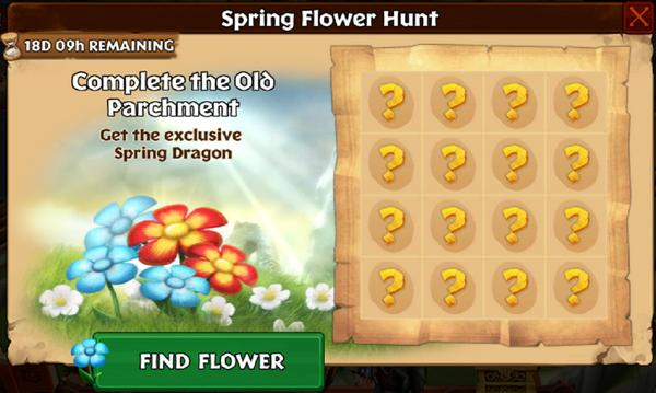 Spring Flower Hunt